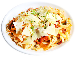 Vegetarian Fettuccine (Red)