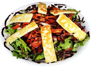 Grilled Haloumi & Tomato