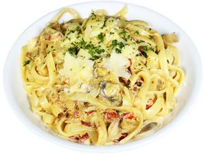 Vegetarian Fettuccine (White)